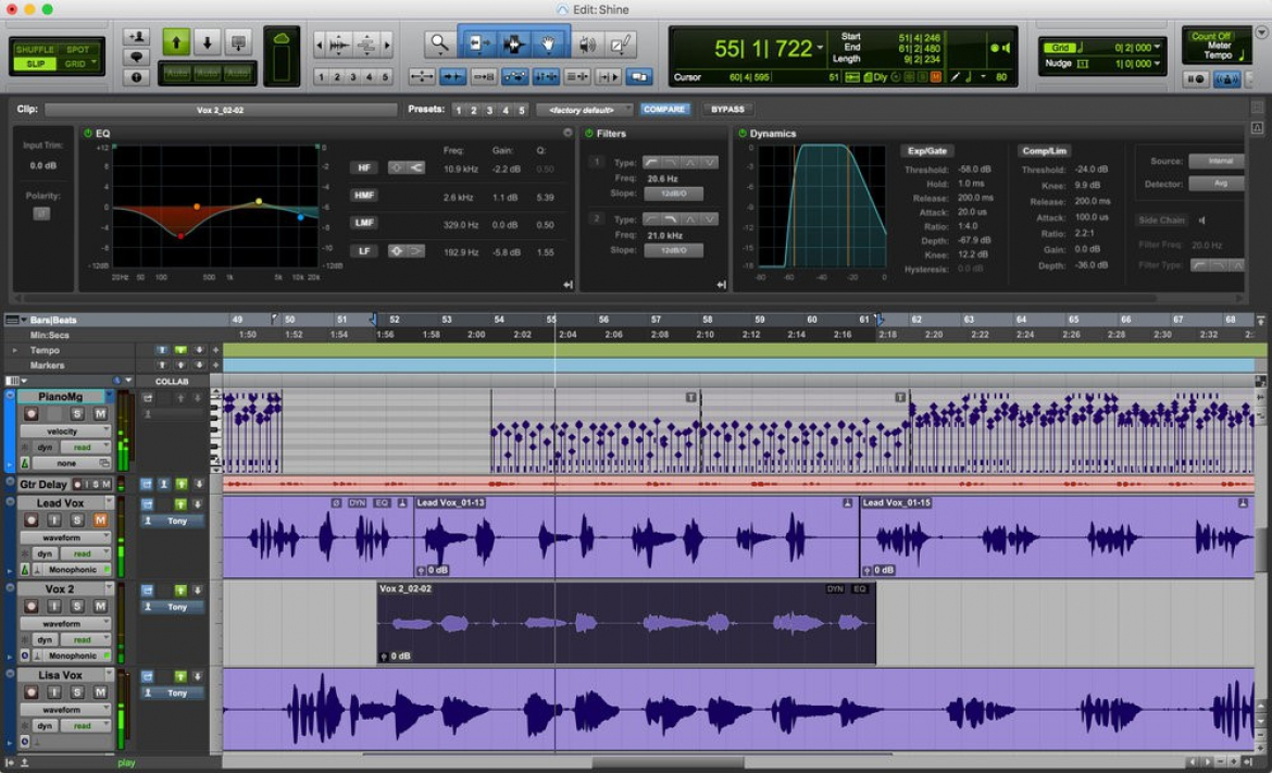 Pro Tools 12.6 Introduces Clip Effects