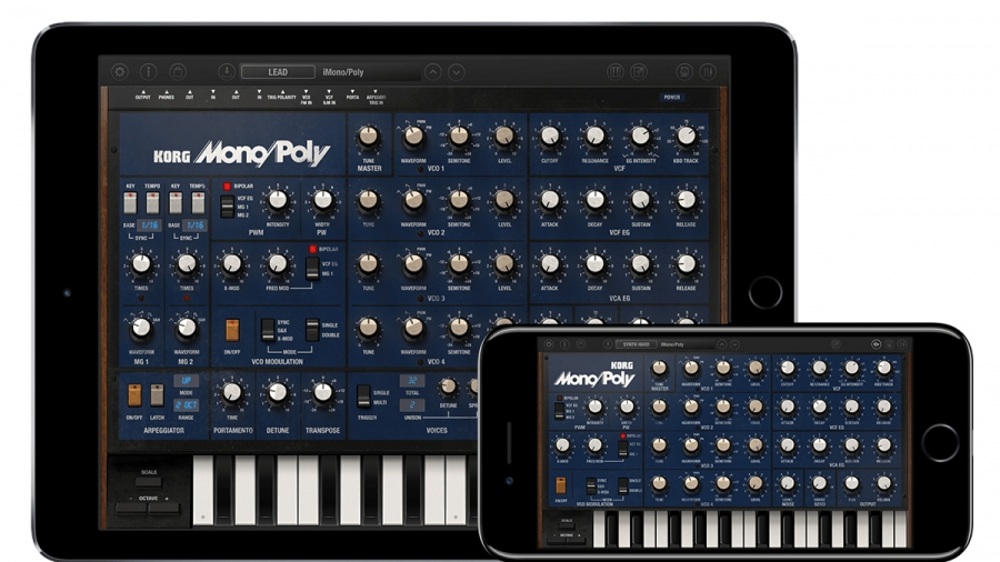 Korg brings classic Mono/Poly analogue synthesiser to iOS