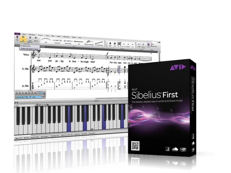 Avid Announce Release of Sibelius First 8